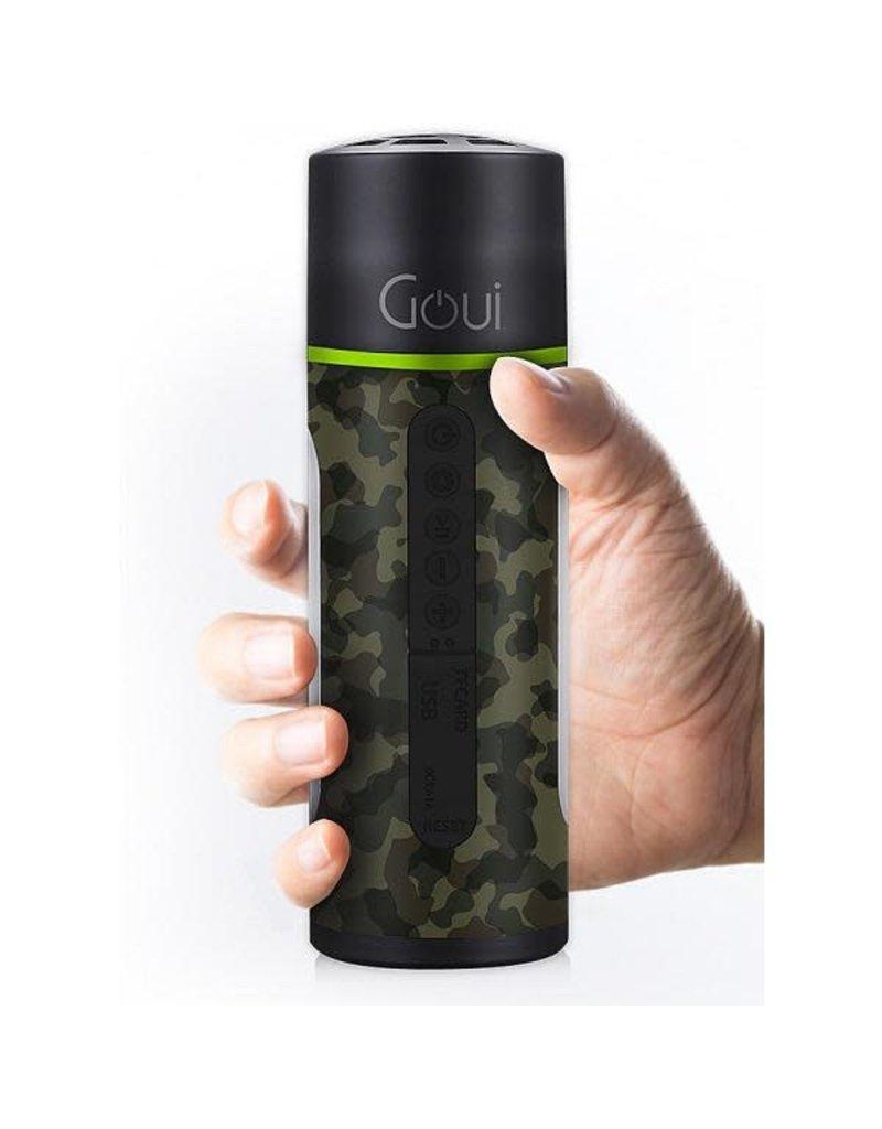 Goui Goui Max Ultra Fast Charging Power Bank 5200mAh / Light /Speaker - Camo
