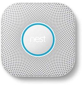 Nest Google Nest 2nd gen protect smoke and carbon monoxide alarm long-life battery - White