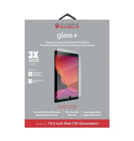 """ZAGG ZAGG InvisibleShield Glass Plus Glass Screen Protector for iPad 7th/8th-Gen 10.2"""" - Clear"""