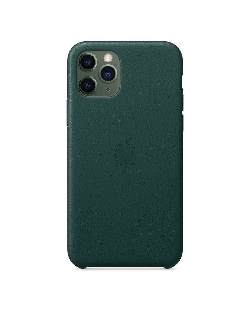 Apple Apple iPhone 11 Pro Leather Case - Forest Green