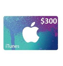 Apple iTunes Gift Card $300 USA