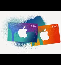 Apple iTunes Gift Card $200 USA