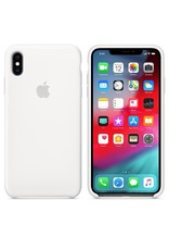 Apple Apple iPhone Xs Max Silicone Case - White