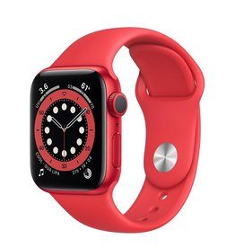 Apple Apple Watch Series 6 GPS, 40mm Aluminum Case with Product Red Sport Band - Product Red