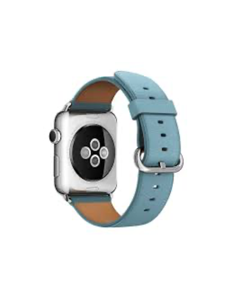 Apple APPLE WATCH CLASSIC BUCKLE 316L STAINLESS STEEL BUCKLE 42MM - BLUE JAY LEATHER