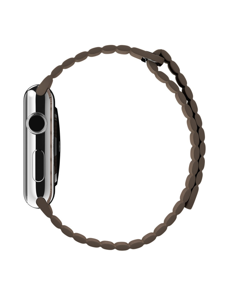 Apple Apple Watch Leather Loop Band Large 42/44mm - Brown