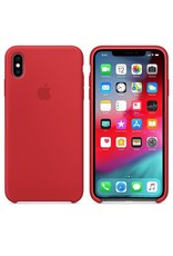 Apple Apple iPhone Xs Max Silicone Case - Red