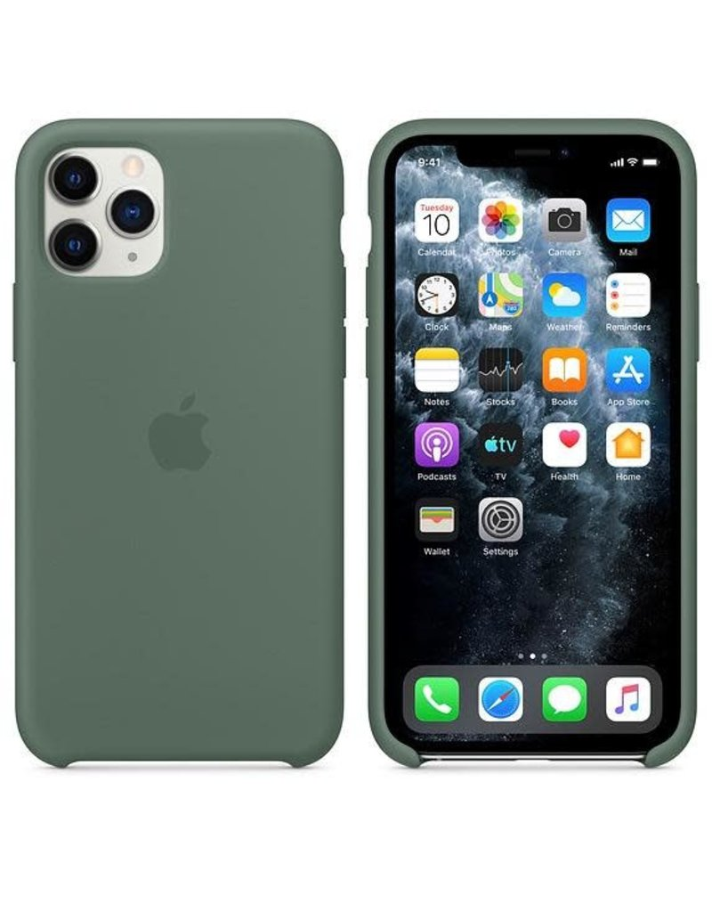 Apple Apple iPhone 11 Pro Silicone Case - Pin Green