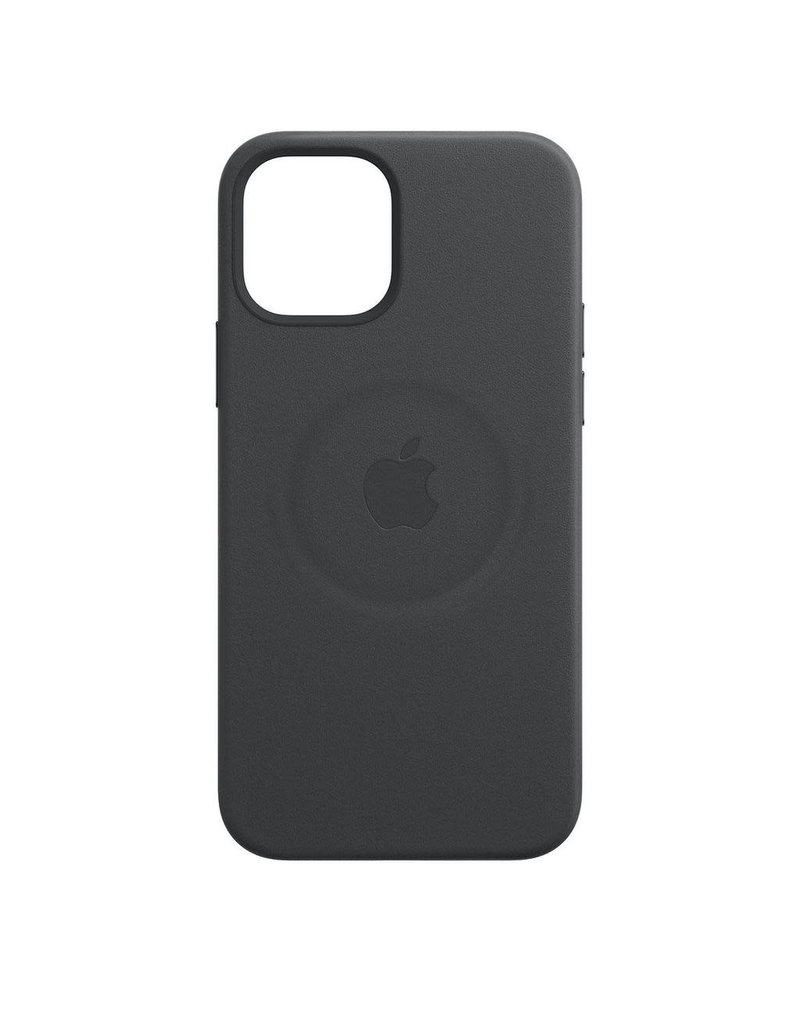 Apple Apple iPhone 12 Pro Max Leather Case with MagSafe - Black