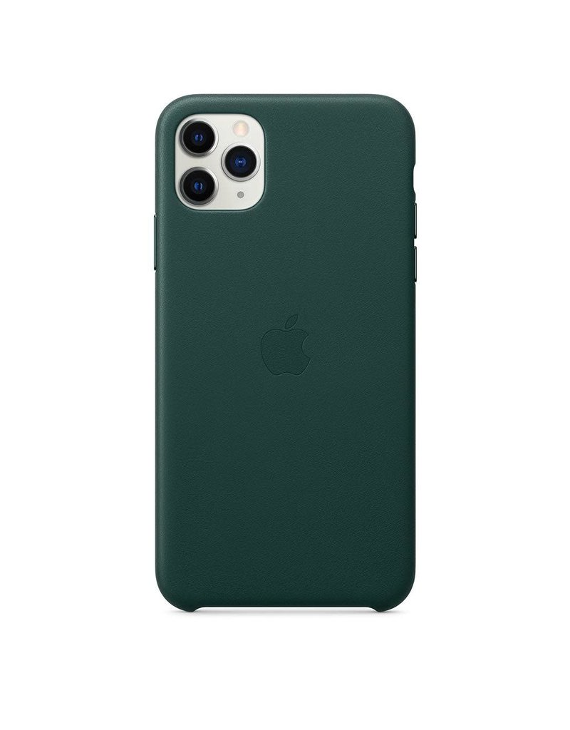 Apple Apple iPhone 11 Pro Max Leather Case - Forest Green
