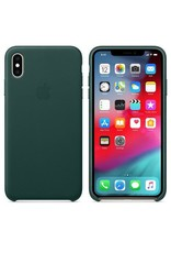 Apple Apple iPhone Xs Max Leather Case - Forest Green