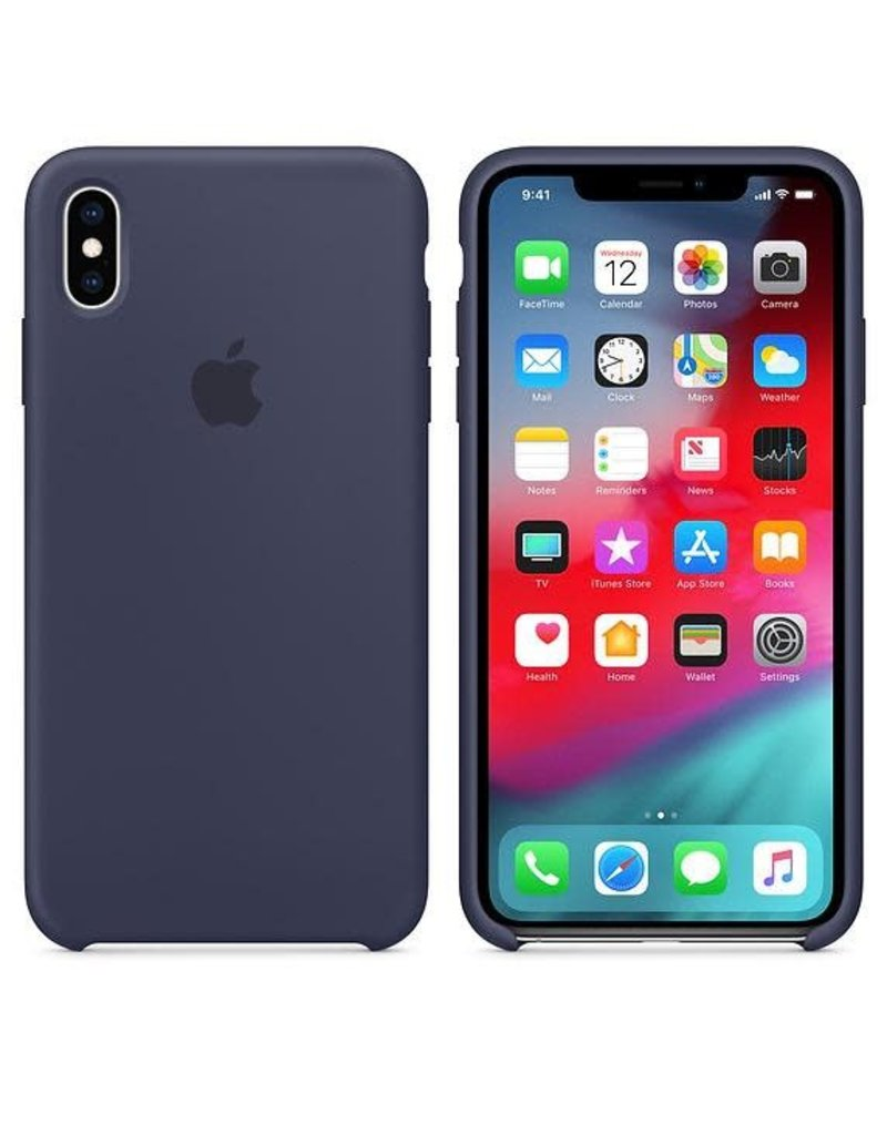 Apple Apple iPhone Xs Max Silicone Case - Midnight Blue