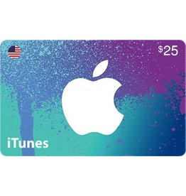 Apple iTunes Gift Card $25 USA Store