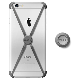 Mod-3 Mod-3 Alt Case With Matching Color Wall Mount For iPhone 6/6s - Space Grey