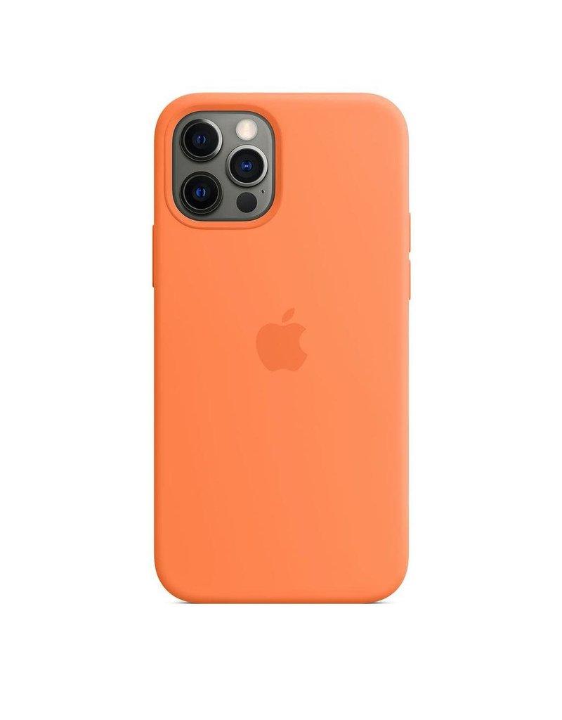Apple Apple iPhone 12   12 Pro Silicone Case with MagSafe - Kumquat
