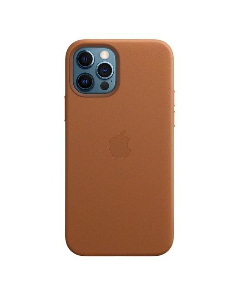Apple Apple iPhone 12   12 Pro  Leather Case with MagSafe  - Saddle Brown