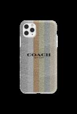 Coach Coach Protective Case for Apple iPhone 11 Pro Max - Glitter Americana