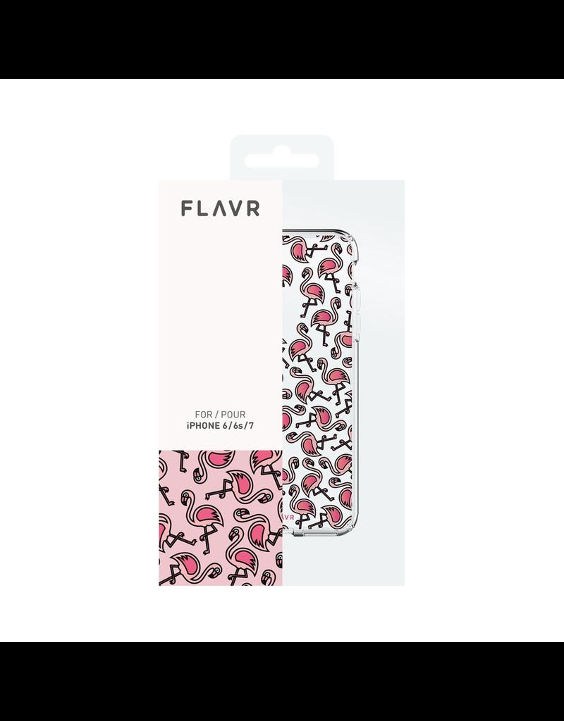 Flavr FLAVR IPLATE FLAMINGOS CASE IPHONE 7/8/SE