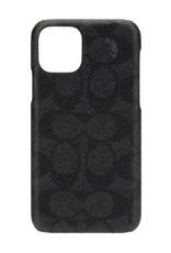 Coach Slim Wrap Case for Apple iPhone 11 Pro Max - Signature C Black