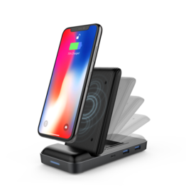Hyper HyperDrive++ With 7.5W Wireless Charger USB-C Hub for MackBook