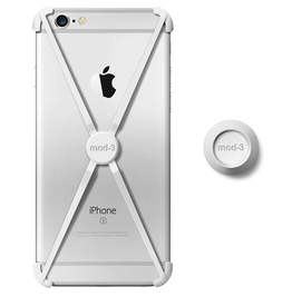 Mod-3 Mod-3 Alt Case With Matching Color Wall Mount For iPhone 6/6s - White