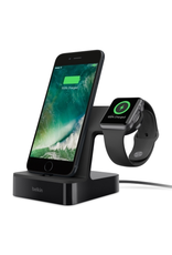 BELKIN Belkin Powerhouse Charge Dock For Apple Watch + iPhone - Black