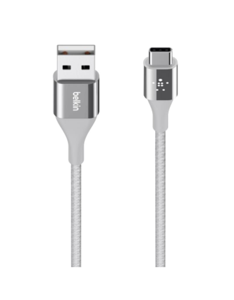 Belkin Mixit DuraTek USB-C to USB-A Kevlar Cable 1.2M - Silver