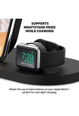 Belkin Wireless Charging Dock for Apple Watch and Wireless Charging Capable Devices - Black