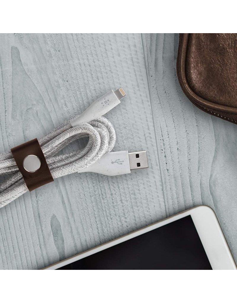 Belkin DuraTek Plus Apple Lightning Cable 4ft/1.2m - Black