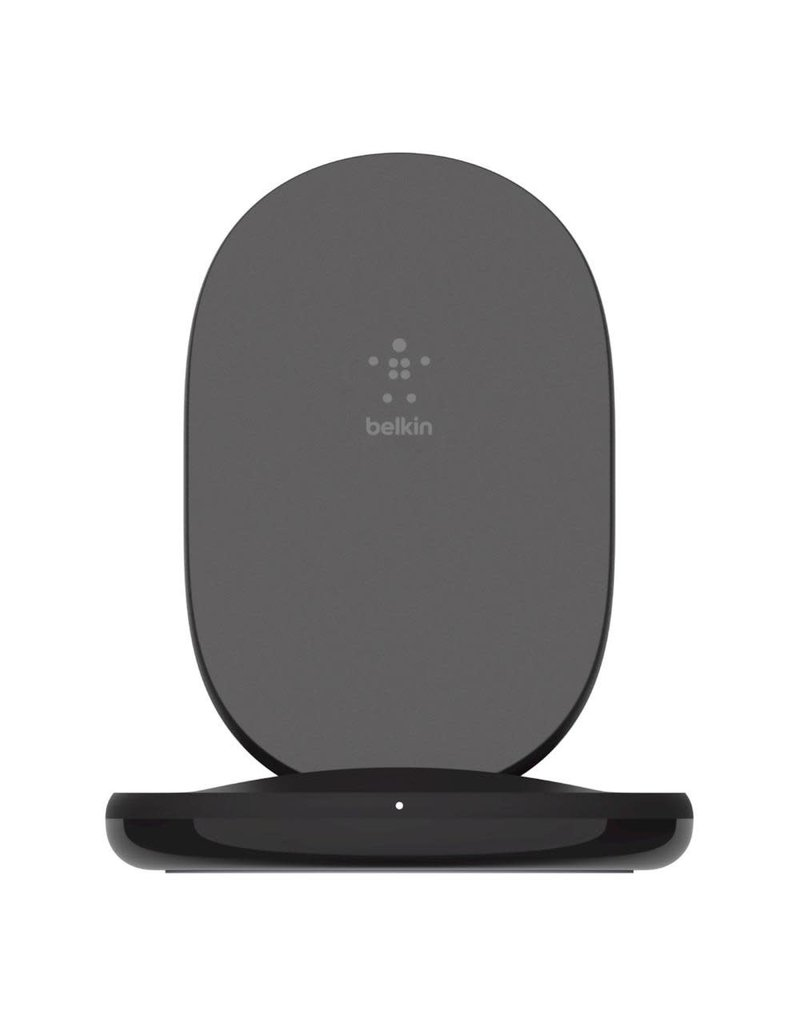 Belkin Boost Charge Wireless Charging Stand 15W and QC 3.0 Wall Charger 24W - Black