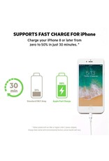 Belkin Boost Up Charge Apple Lightning to USB Type C Cable 4ft/1.2m- Black
