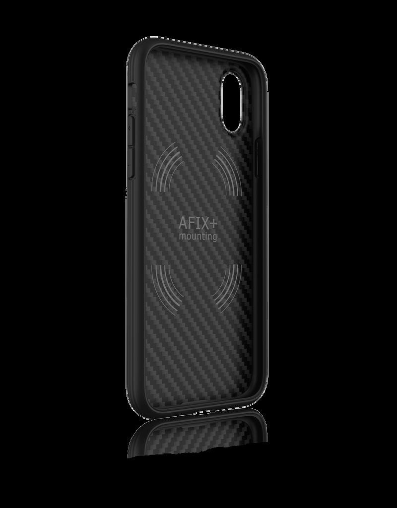 Evutec Evutec Aer Karbon Series With Afix for iPhone X/Xs - Black