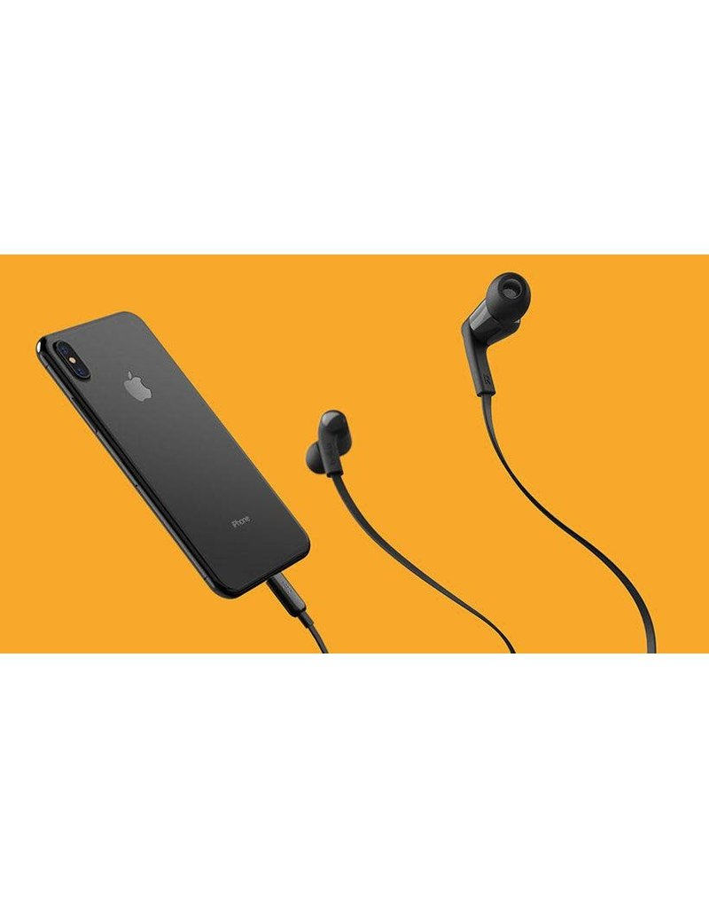 Belkin Rockstar In-Ear Headphones with Lightning Connector - Black
