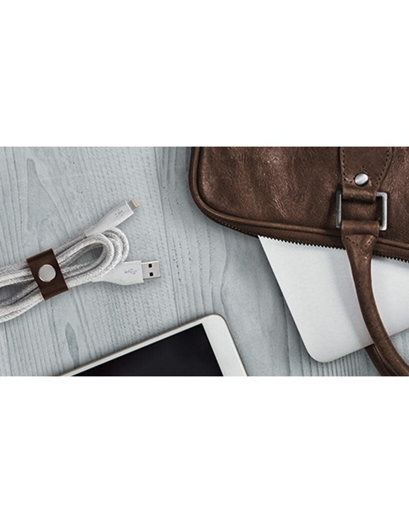 Belkin Duratek Plus Lightning to USB-A cable 3M - White
