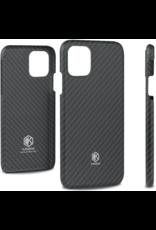 Evutec Evutec Karbon Value Thin Series 0.7mm Aramid Fiber Case for IPhone 11 Pro - Black