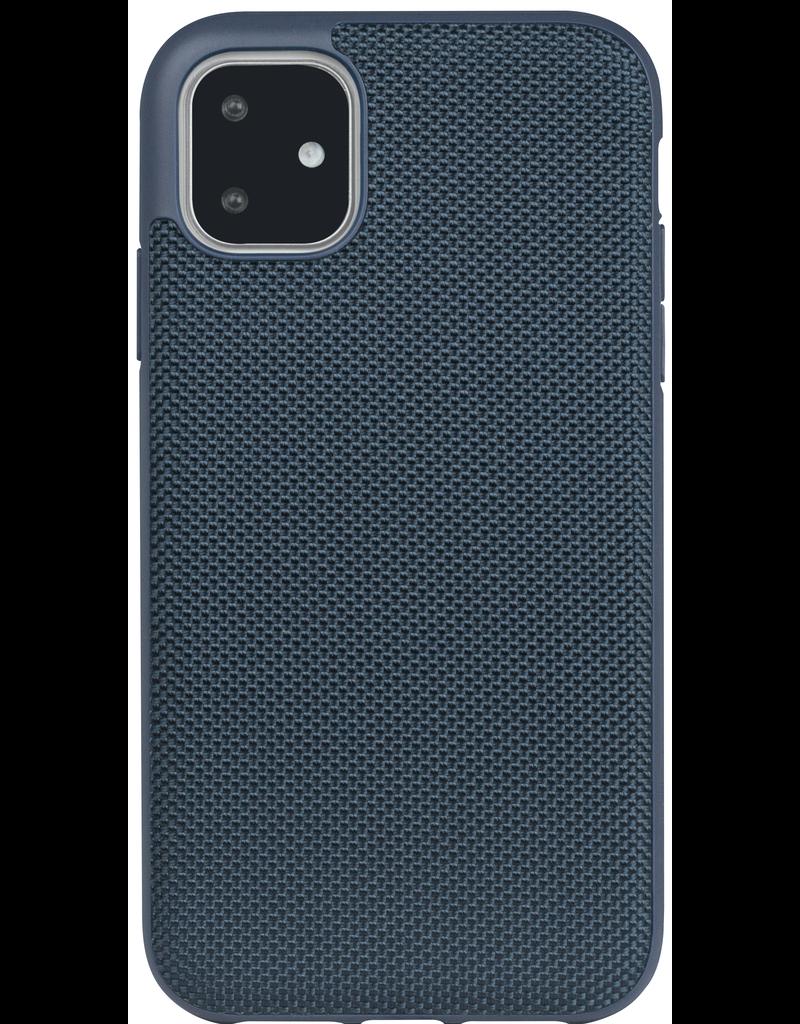 Evutec Evutec Ballistic Nylon Aergo Series Case With Afix for iPhone 11 Pro Max - Blue