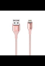 Belkin Mixit DuraTek Lightning to USB-A Kevlar Cable 1.2M - Rose Gold