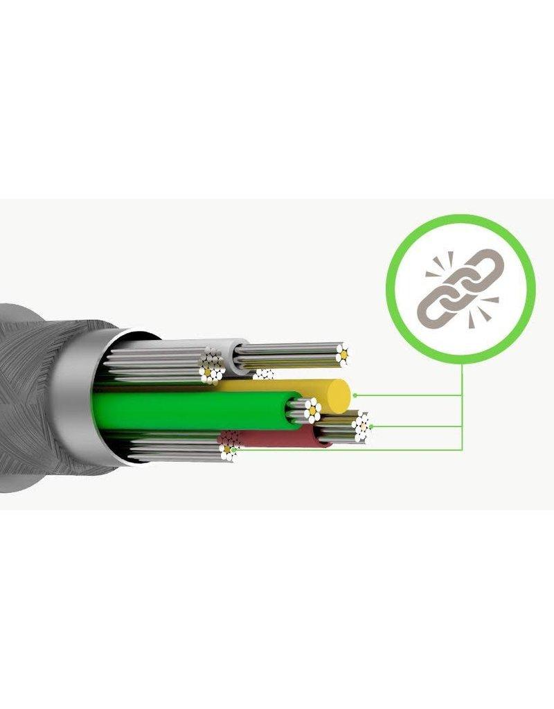 Belkin Duratek Plus Lightning to Type-C 1.2m - White