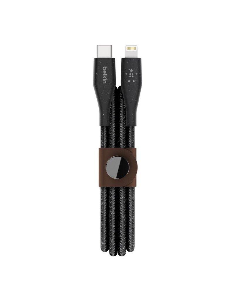 BELKIN Belkin Duratek Plus Lightning to Type-C 1.2m - Black