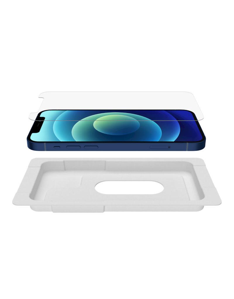 Belkin Screenforce UltraGlass Anti-Microbial Screen Protector for iPhone 12/12 Pro - Clear
