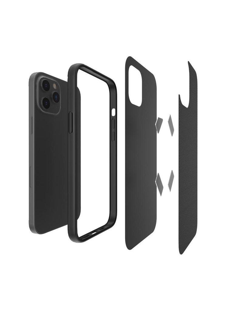 Evutec Evutec Ballistic Nylon Aergo Series Case With Afix for iPhone 12 / 12 Pro - Blue