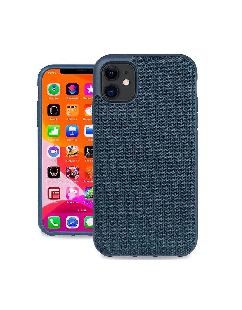 Evutec Evutec Ballistic Nylon Aergo Series Case With Afix for iPhone 11 - Blue