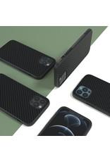 Evutec Evutec Aer Karbon Series With Afix Case for iPhone 12 Pro Max - Black