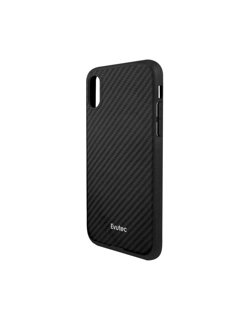Evutec Evutec Aer Karbon With Afix Case for iPhone Xr - Black