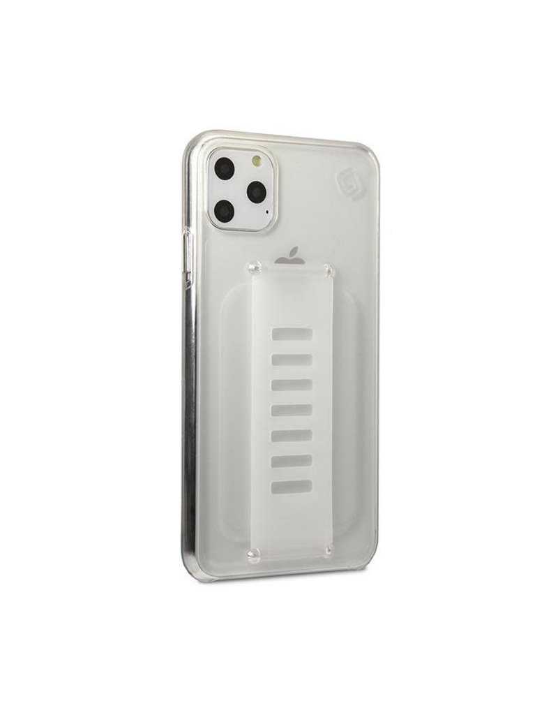 Grip2u Grip2u Slim Multiple Hand Grip Case for iPhone 11 Pro Max - Clear
