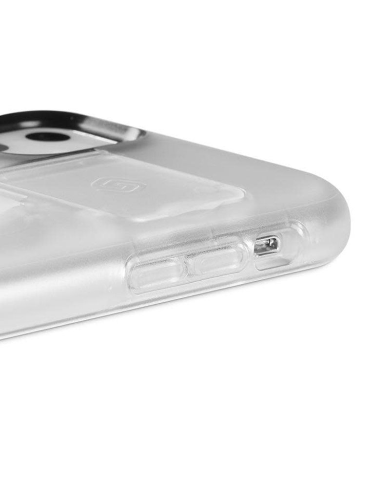 Grip2u Grip2u Boost Hand Grip with Kickstand Case for iPhone 11 - Clear