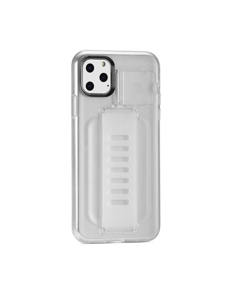 Grip2u Grip2u Boost Hand Grip with Kickstand Case for iPhone 11 Pro Max - Clear