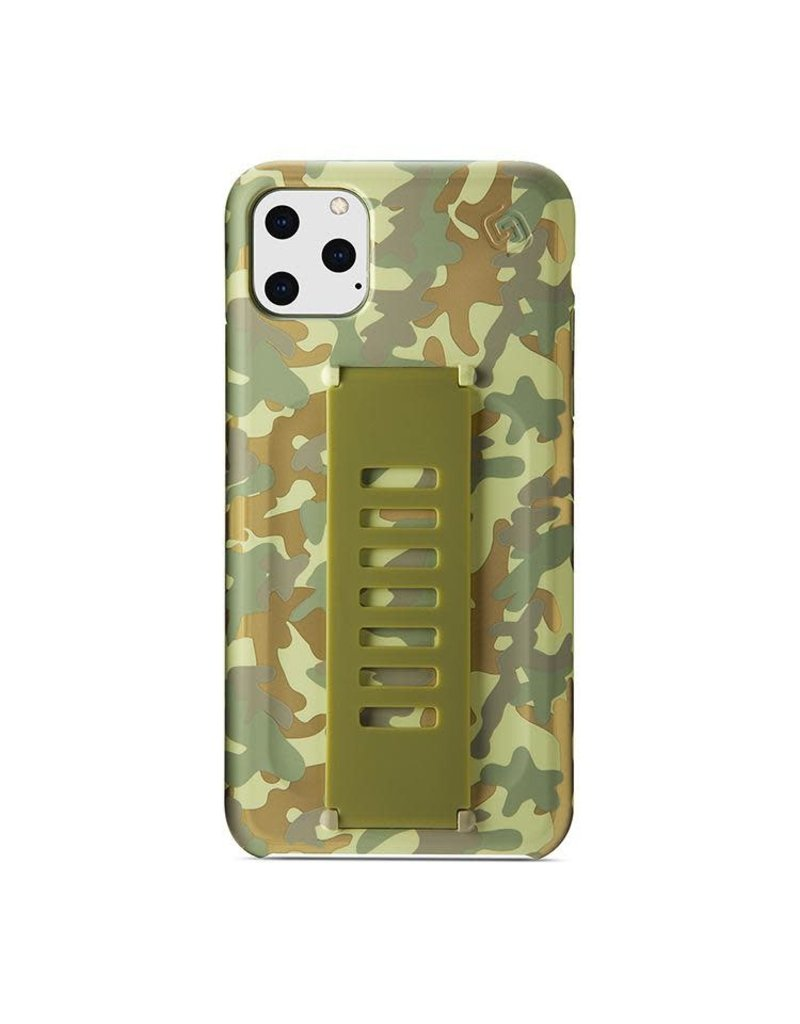Grip2u Grip2u Slim Multiple Hand Grip Case for iPhone 11 Pro Max - West Point Metallic