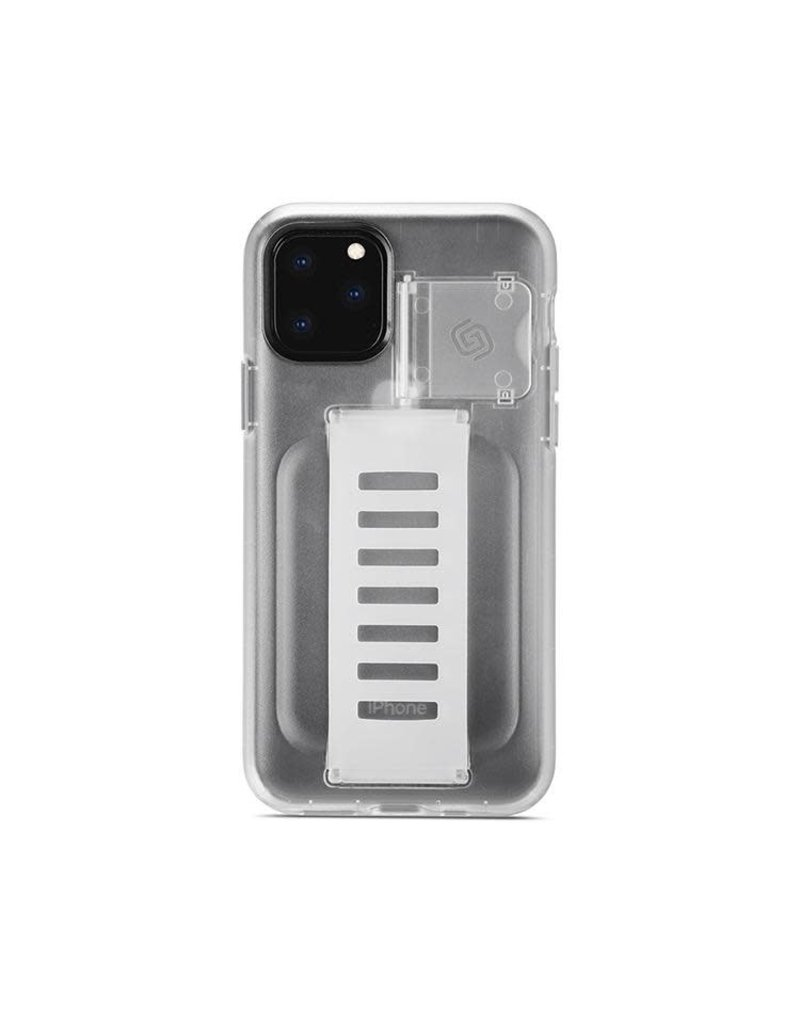 Grip2u Grip2u Boost Hand Grip with Kickstand Case for iPhone 11 Pro - Clear