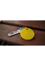 CHIPOLO CHIPOLO Plus Smart Keyring Finds+Tracker - Lemon Yellow